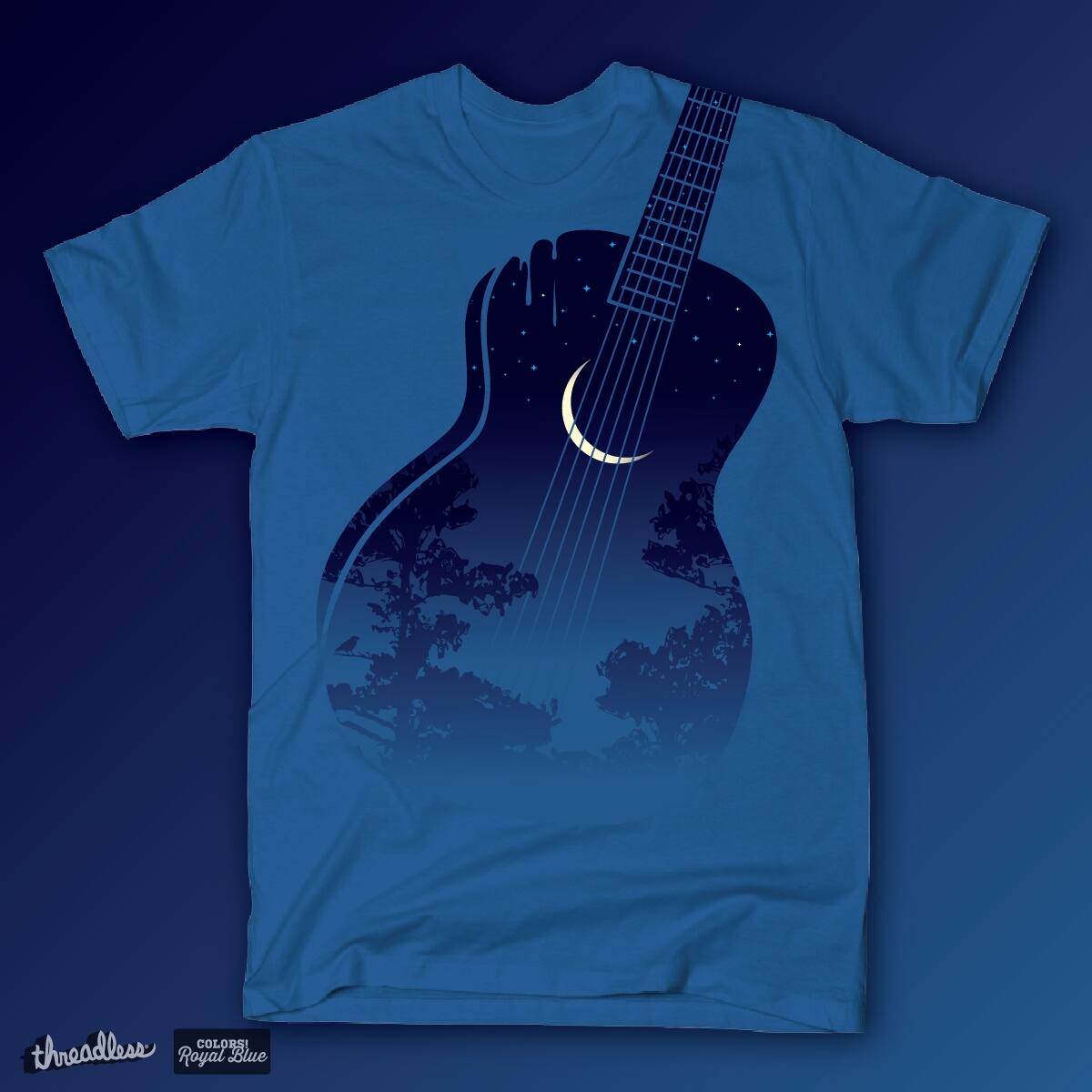 Blues Guitar by HomesliceTEES on Threadless