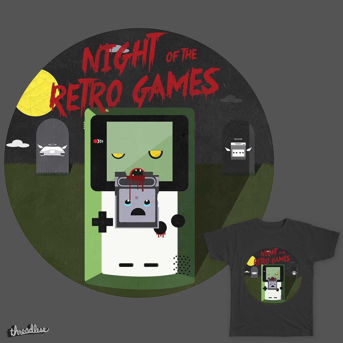 Night of the Retro Games by Knichols11 on Threadless