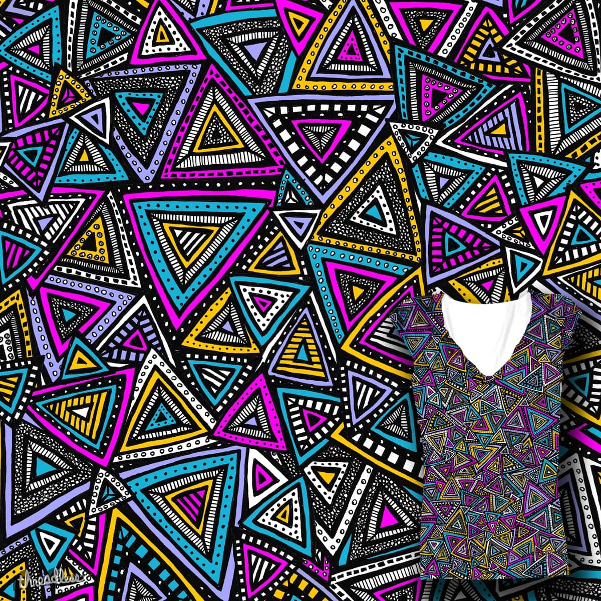 Tribal Triangles by robyriker on Threadless