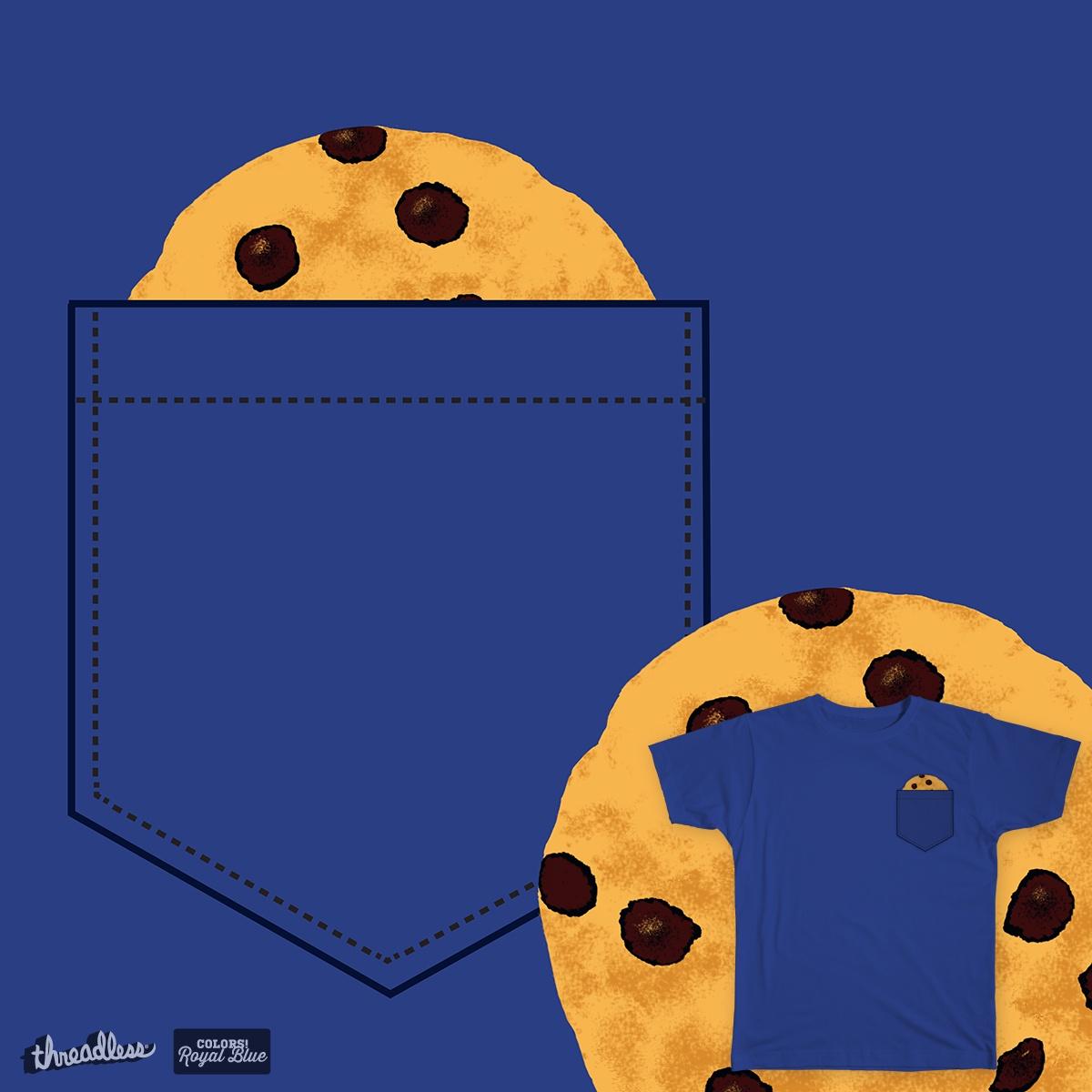 Cookie Monster's Secret Pocket by Ullea on Threadless