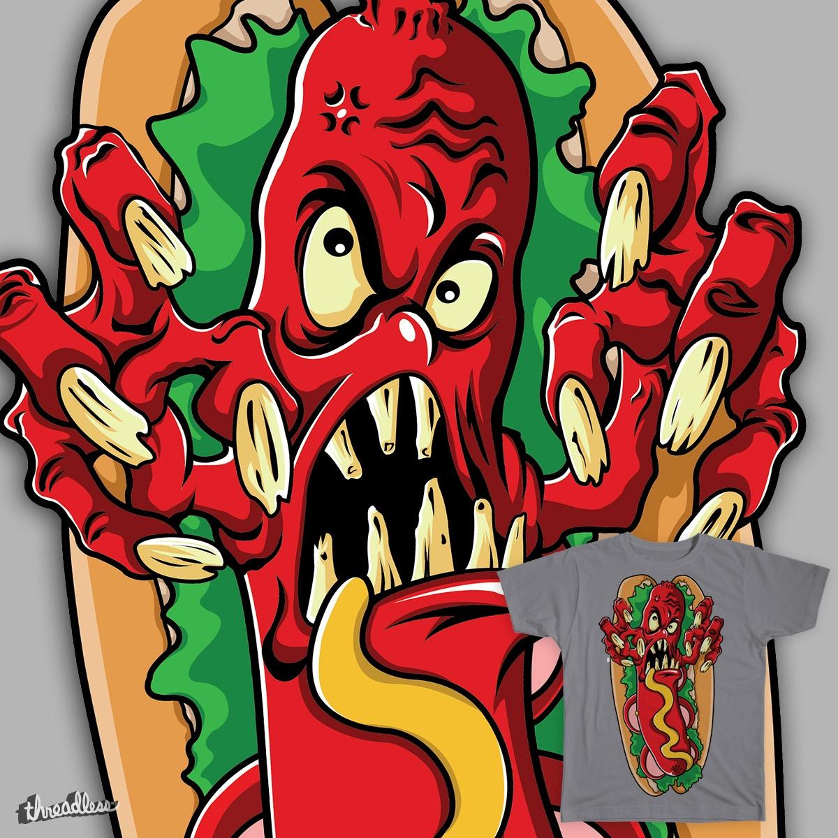 Evil HotDog by Tomrez on Threadless
