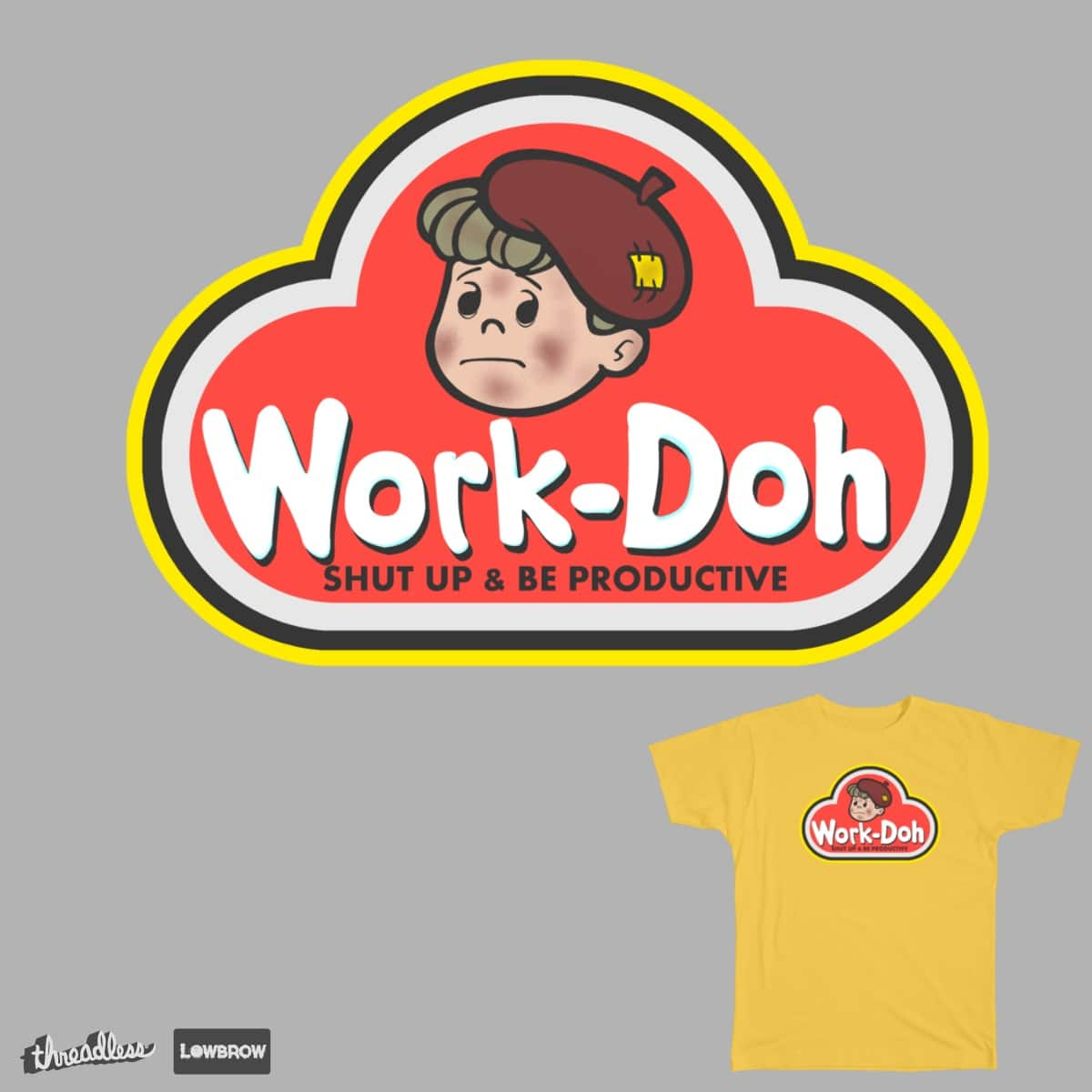 Work-Doh by JadBean on Threadless