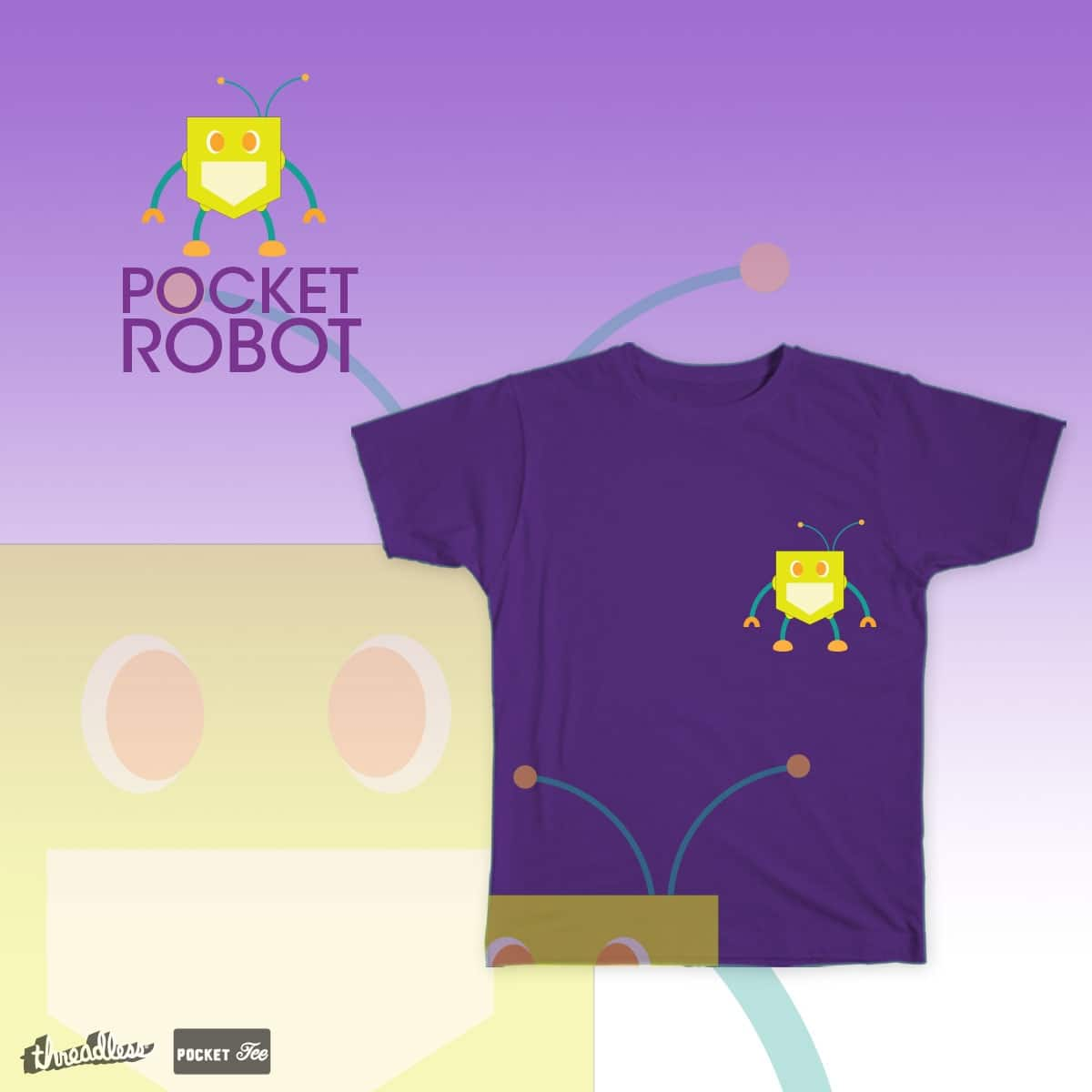 Pocket Robot by Drusillalain on Threadless