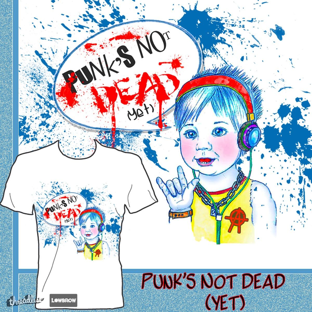 PUNK'S NOT DEAD (yet) by cutiepiegiggles on Threadless