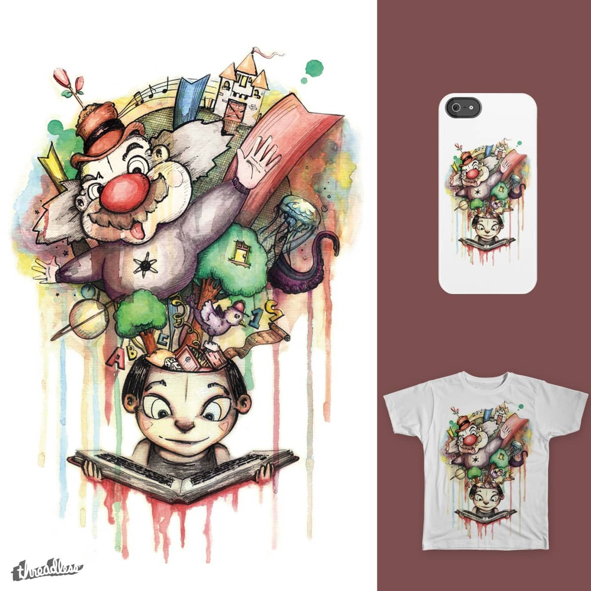 Expanded World by Maufield on Threadless