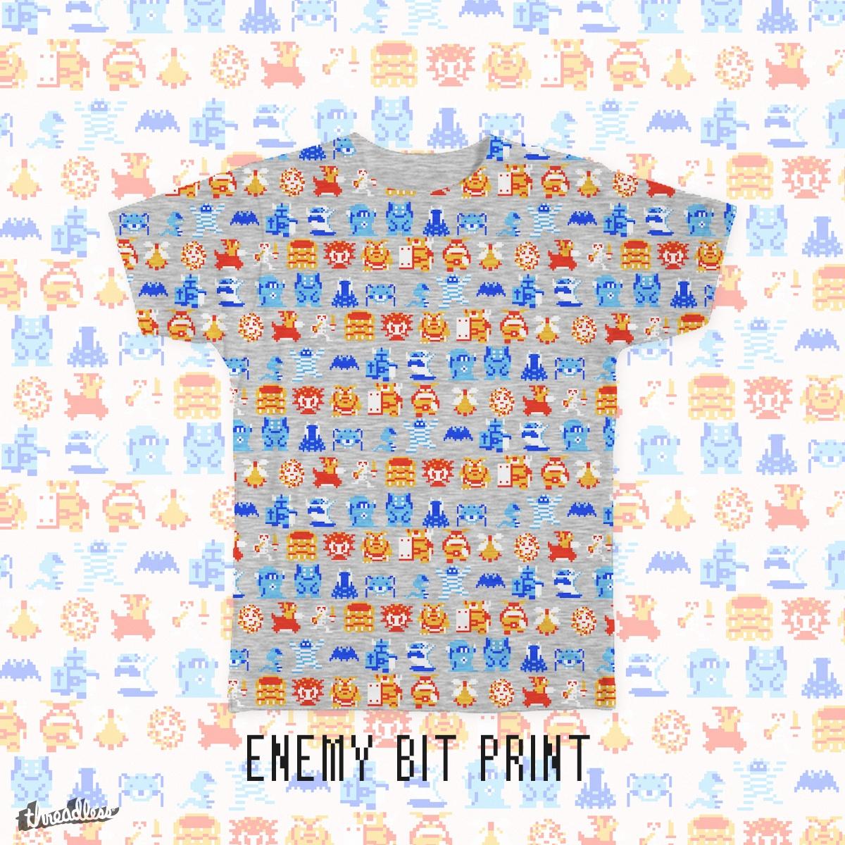 Enemy Bit Print by dandeschaine on Threadless