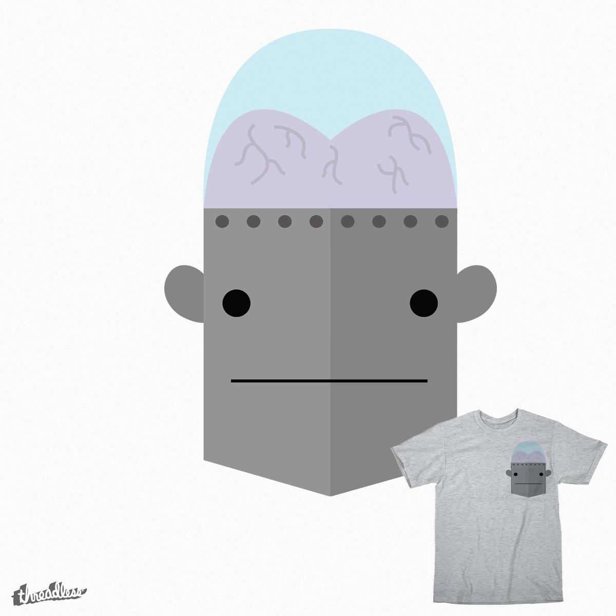 Derp Robot by ANadaskay on Threadless