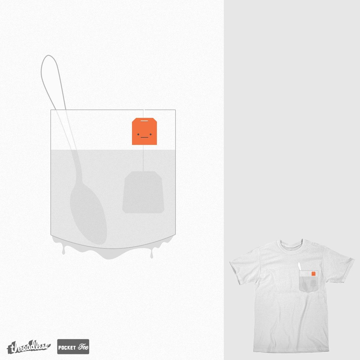pocket with tea by Kot Aisberg on Threadless