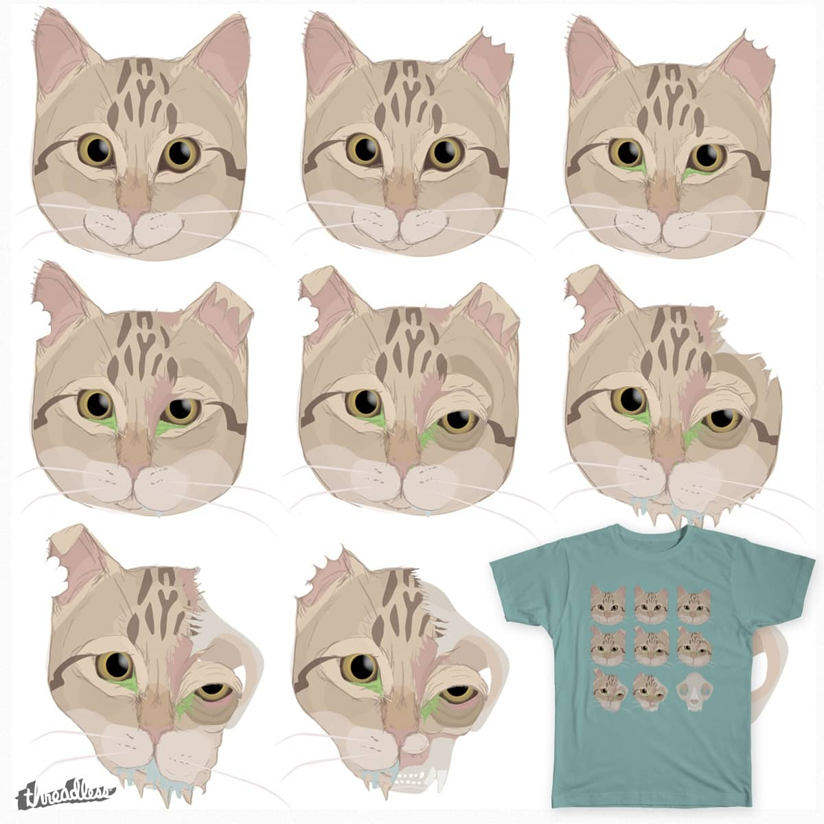 9 Lives by tara.cosgraveperry on Threadless