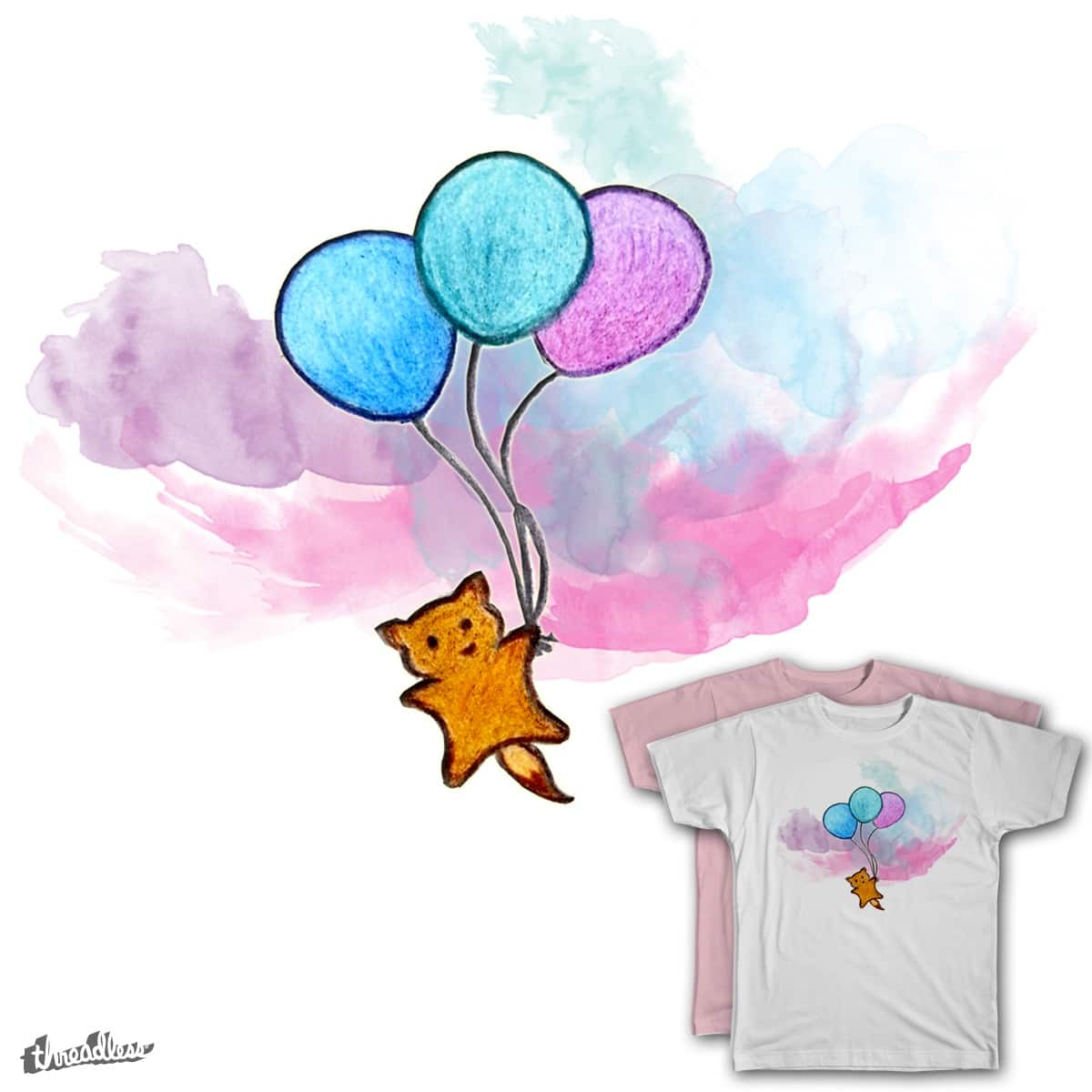 The Sky's the Limit by thatlilfox on Threadless