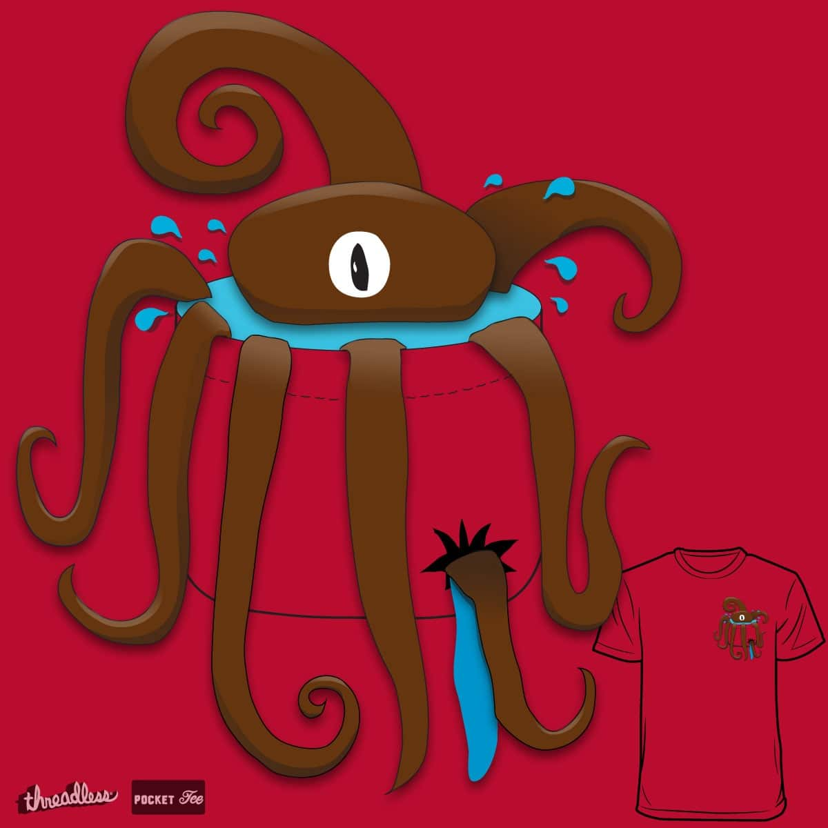 Poctopus by leslieh01 on Threadless