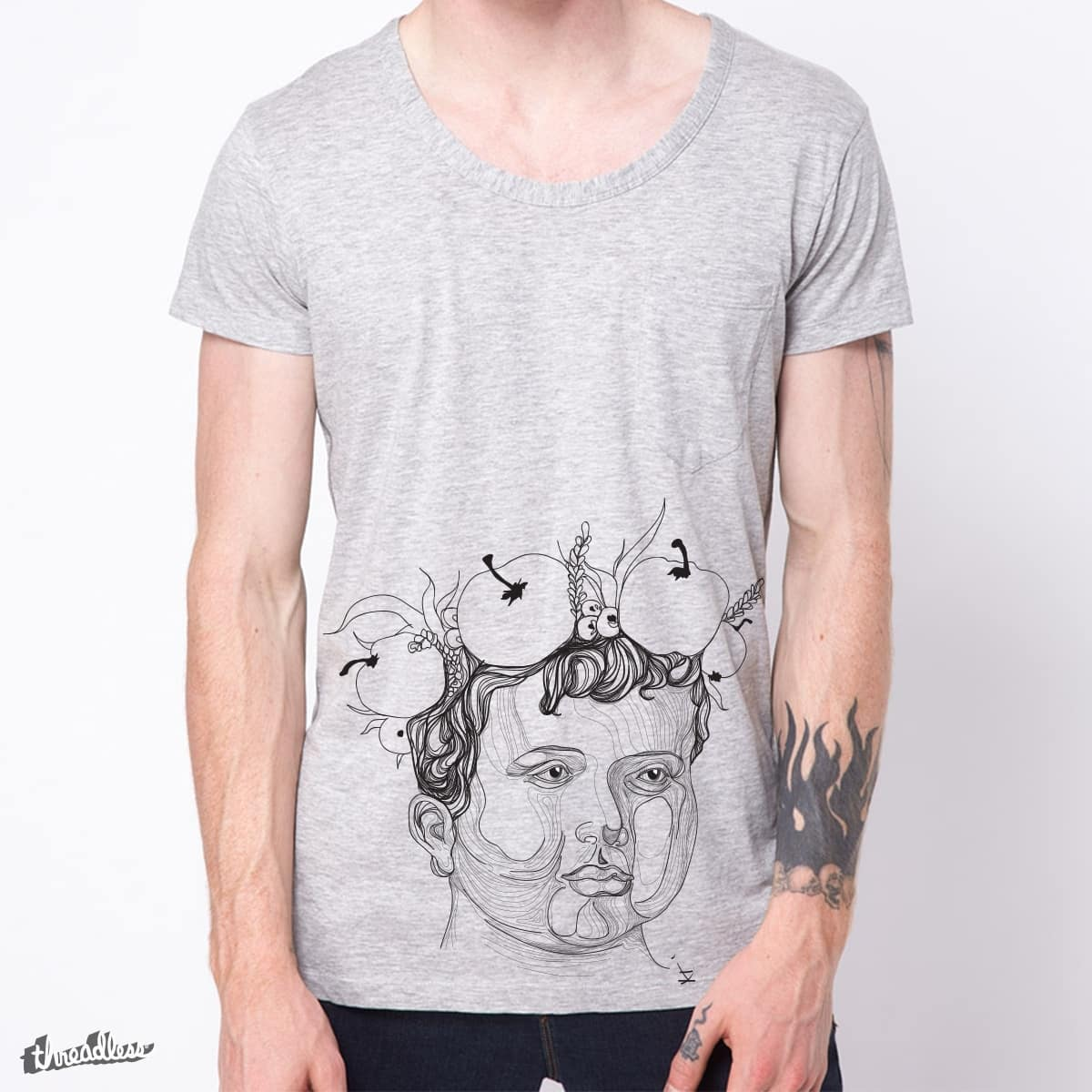 GREY by shkorolov on Threadless