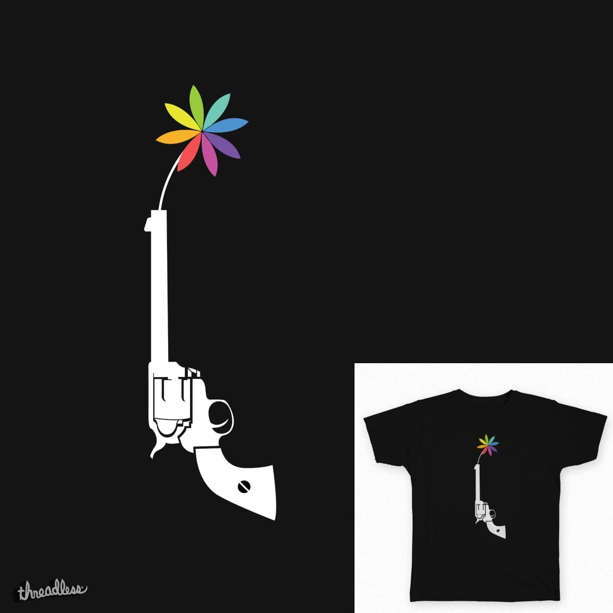 Gun by Cavity on Threadless