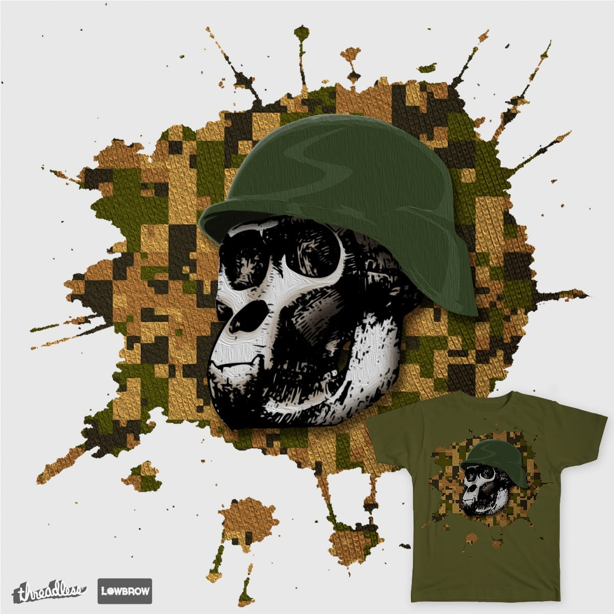 APE SAPIENS  by GCDESIGN on Threadless