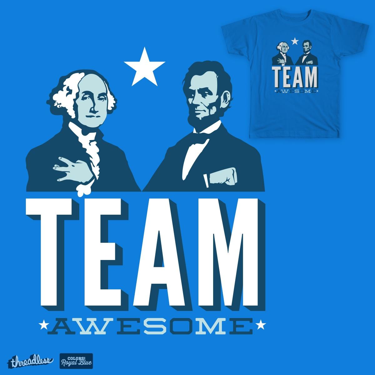 Team Awesome by tslama on Threadless