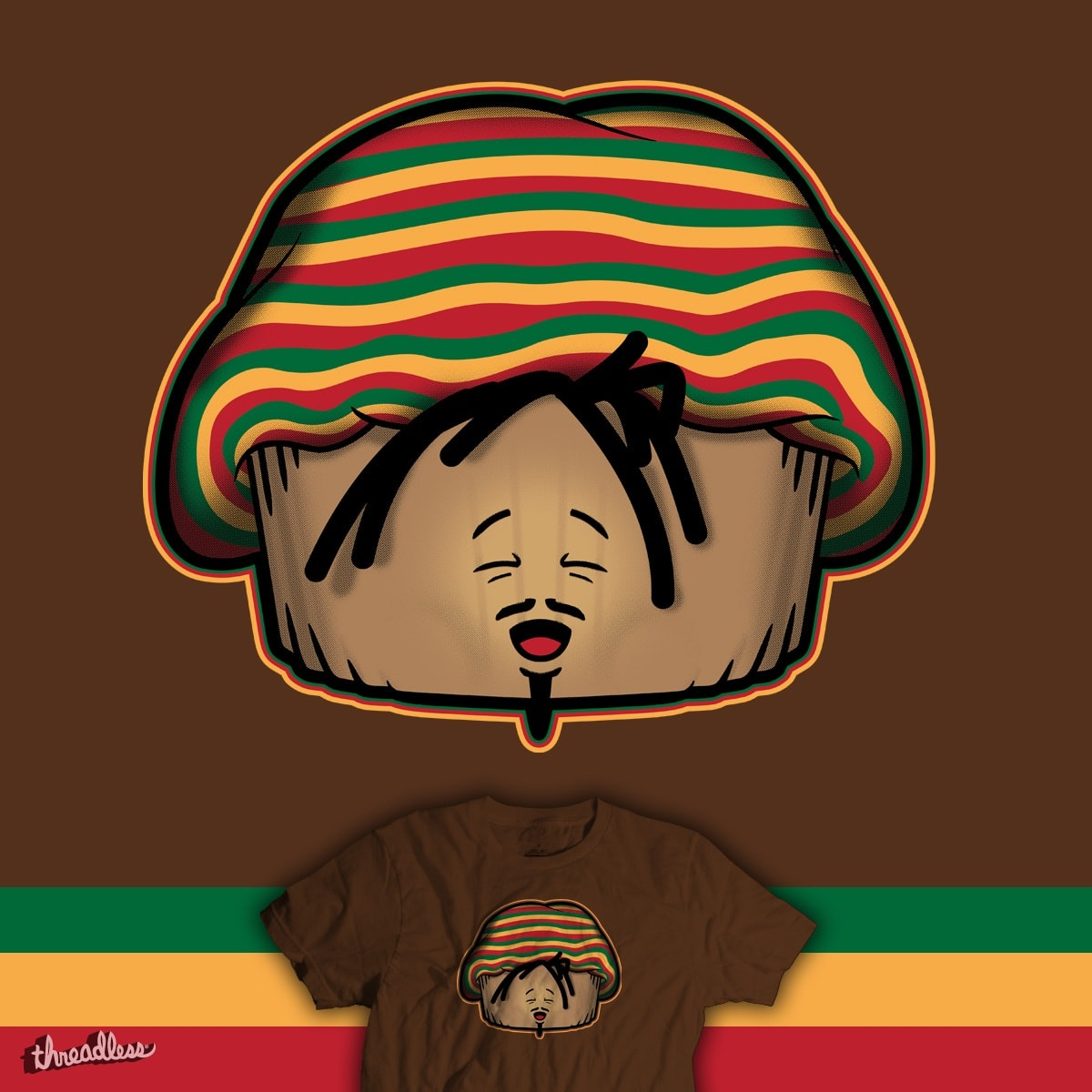 Reggae Muffin by Papaprime on Threadless