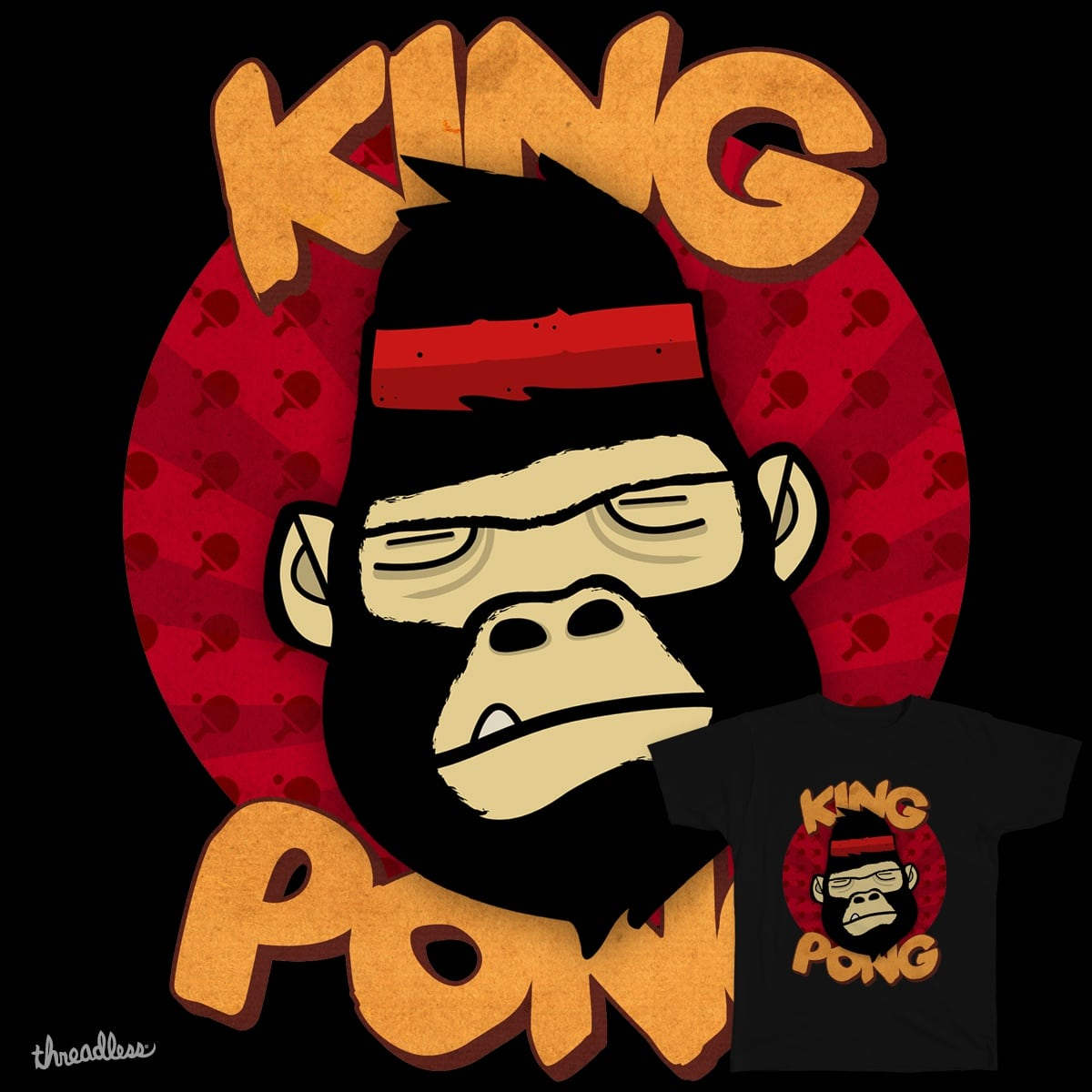 King Pong by unisize on Threadless