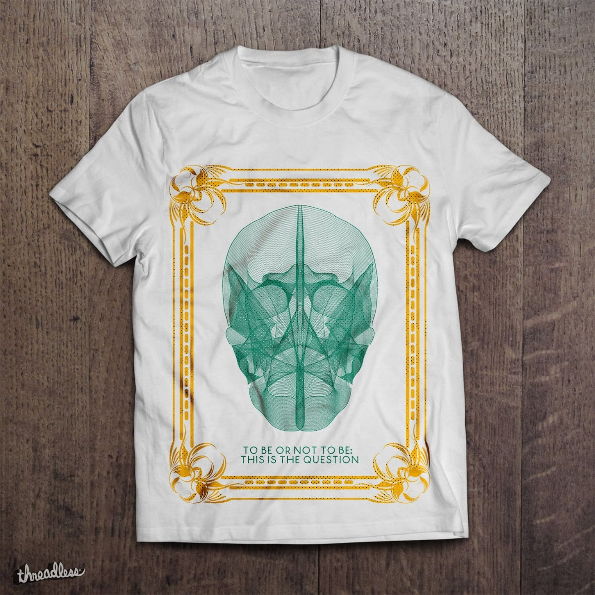 To be or not to be: this is the question by silviuchiriac on Threadless