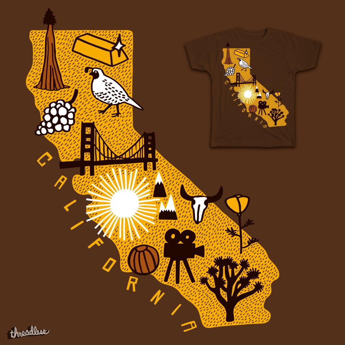 California by Hipopotam on Threadless