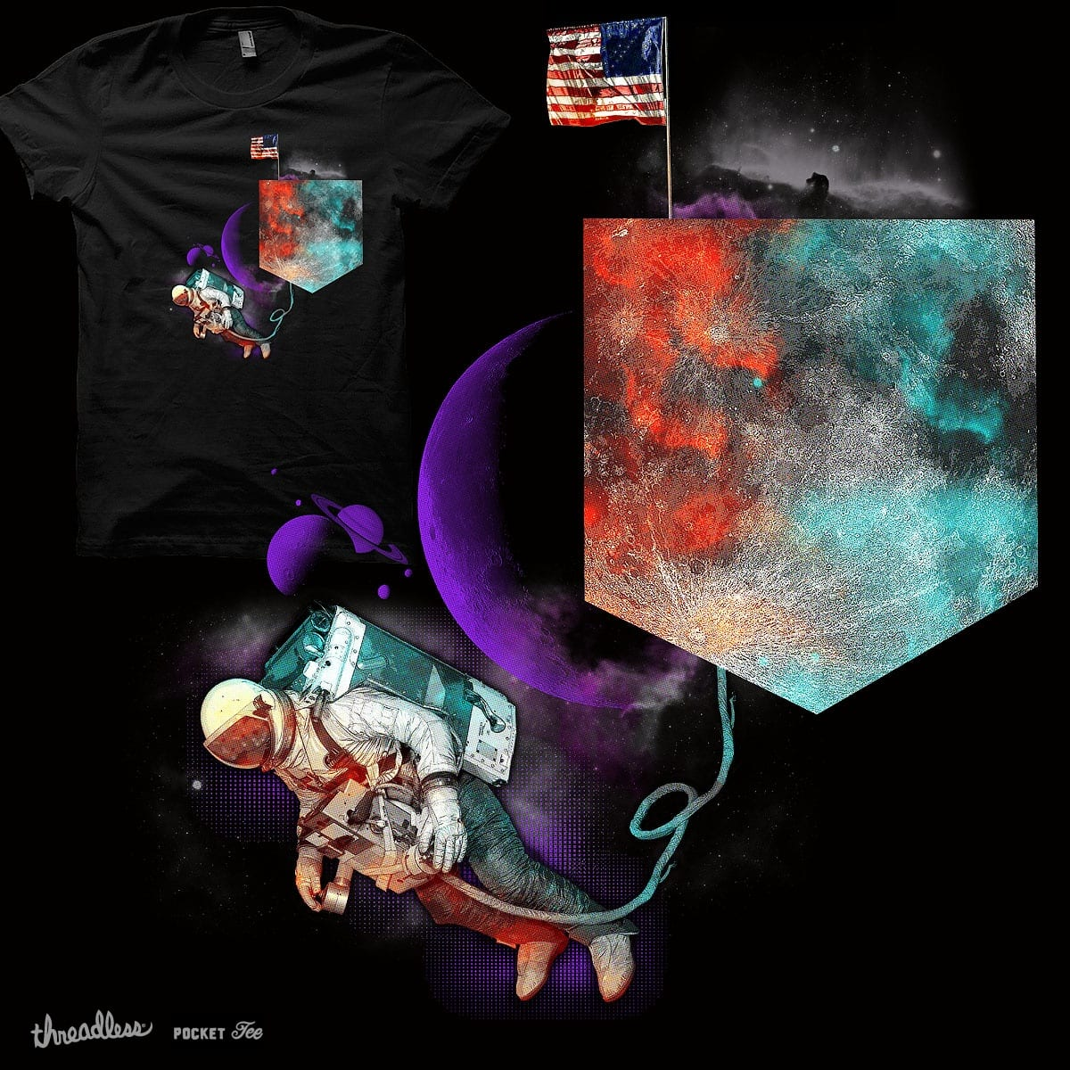 When Moon Lost it's Shape by Agimat ni Ingkong on Threadless