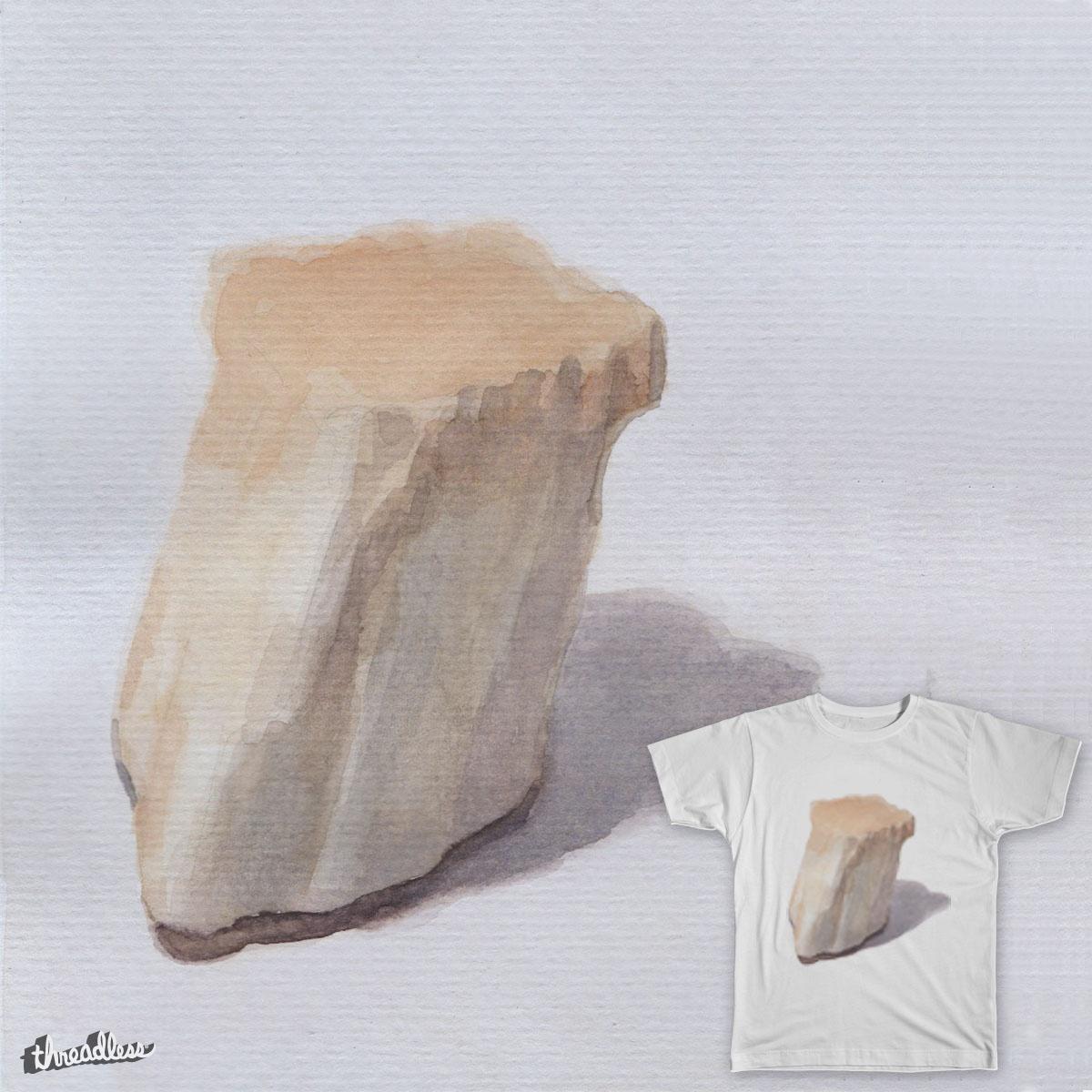 watercolor stone by brochagorda on Threadless