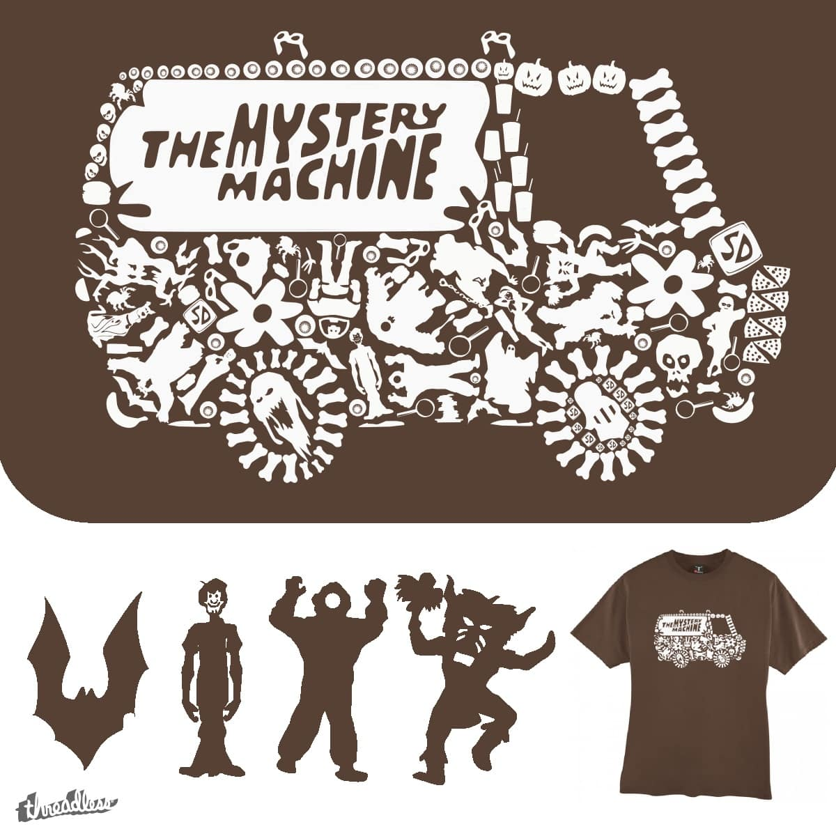 Mystery Machine by TRYBYK on Threadless