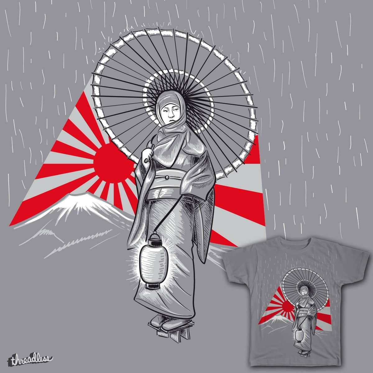 Rising sun by existenz70 on Threadless
