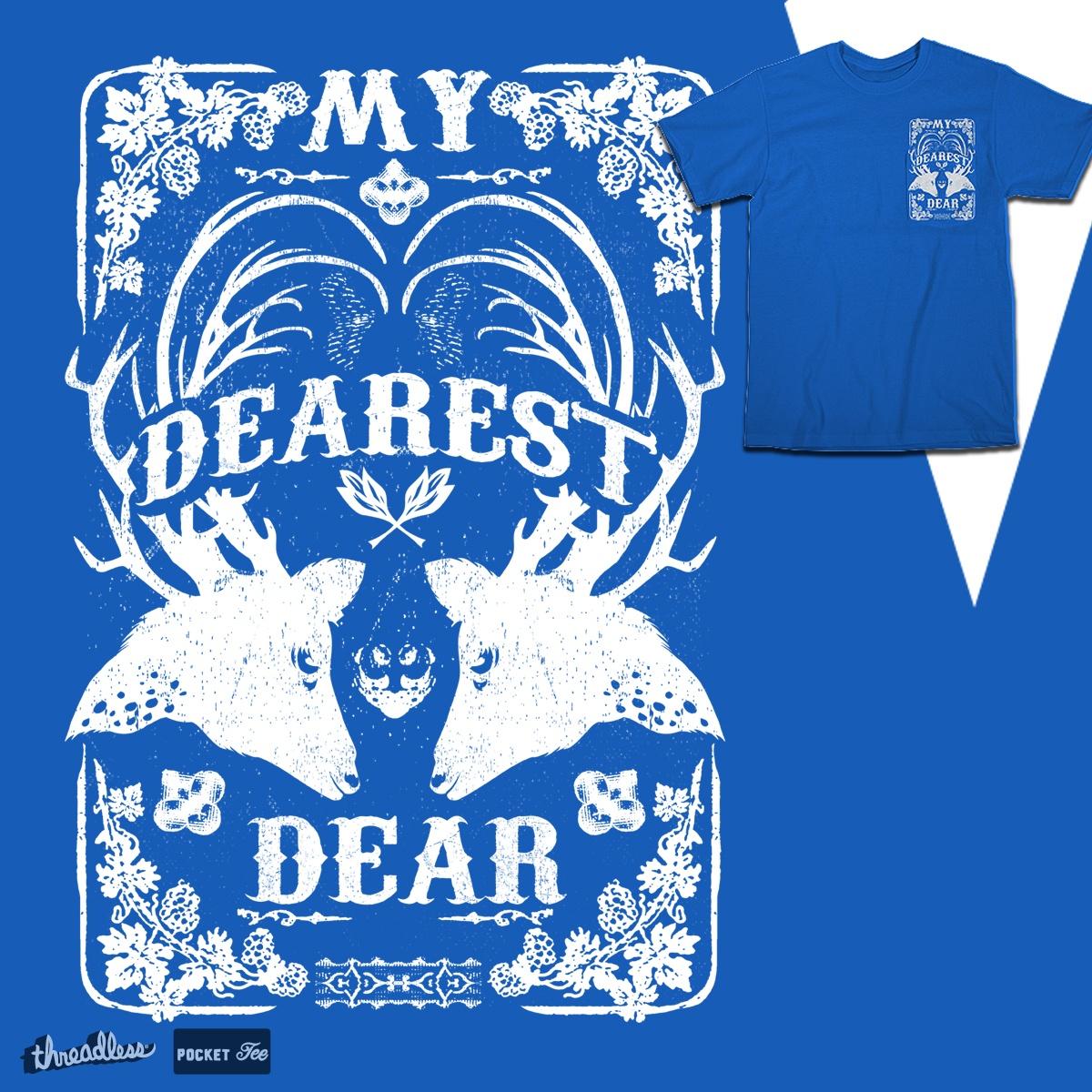 Dearest Deer by DalemyMan on Threadless