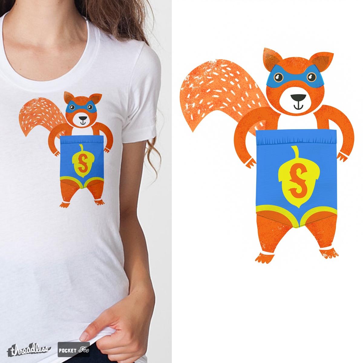Super squirrel by levman on Threadless