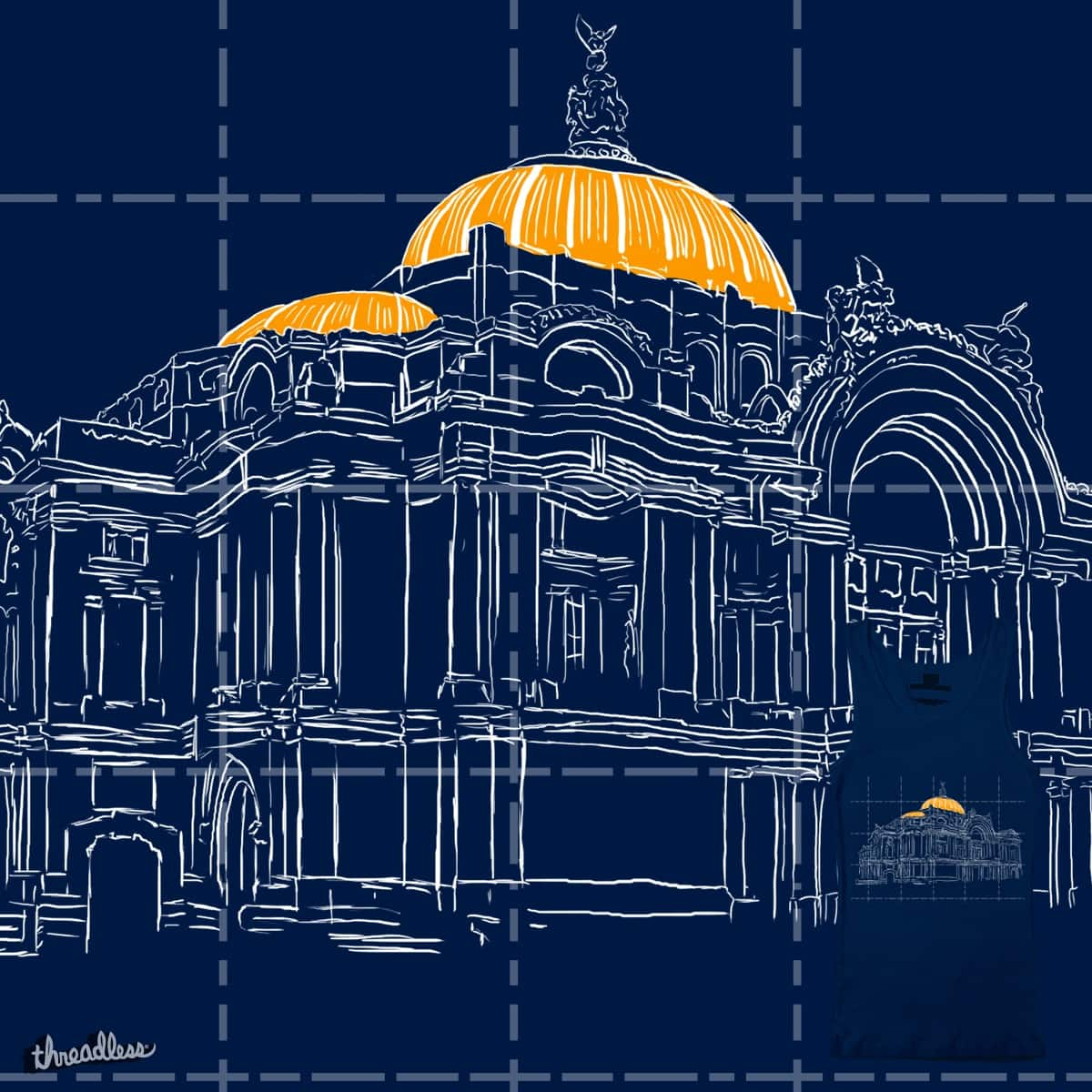 Bellas artes  by InktvisPock on Threadless