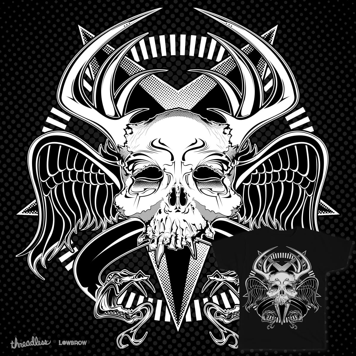 Heathen Crest by pixelrat on Threadless