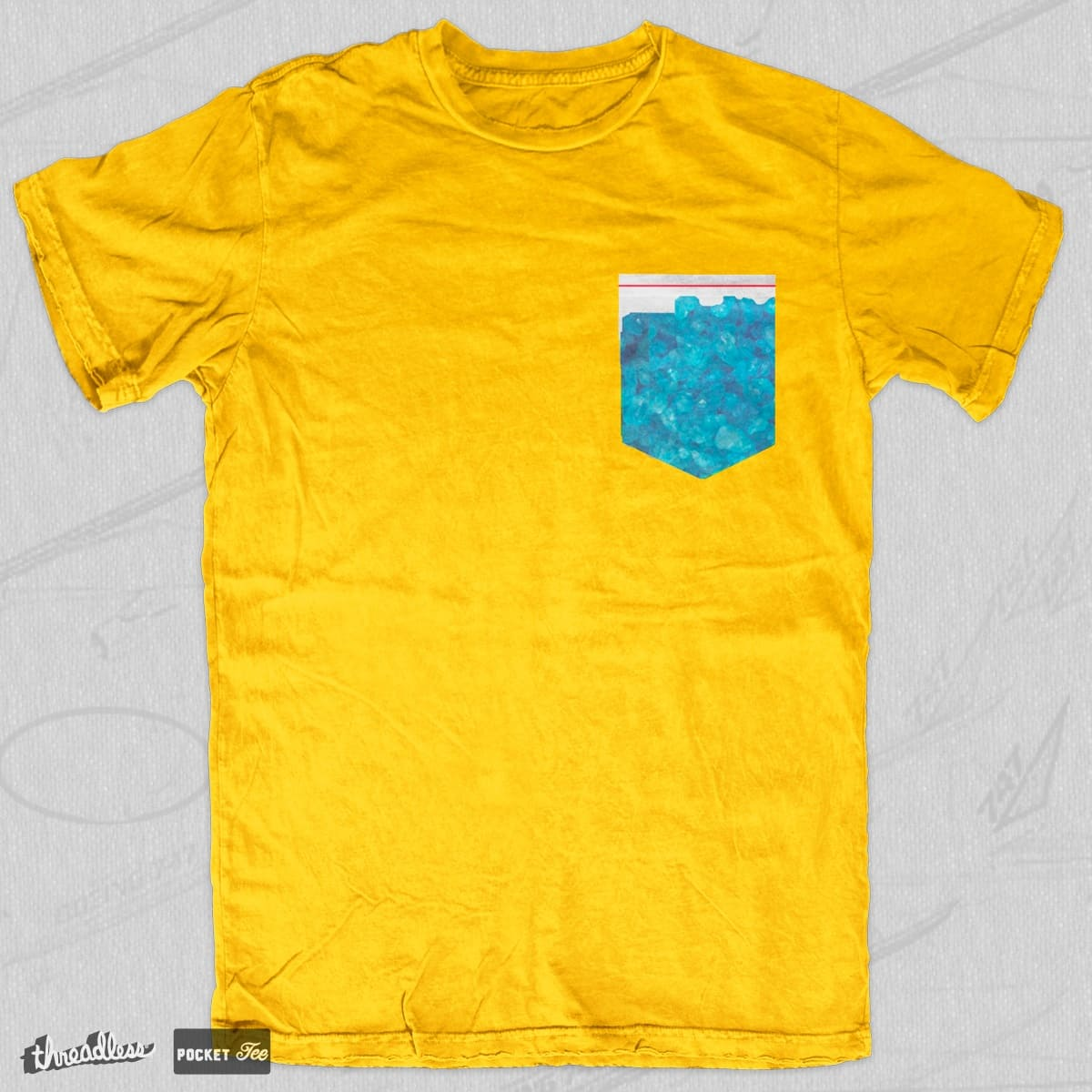 Blue Meth by tellodonley on Threadless