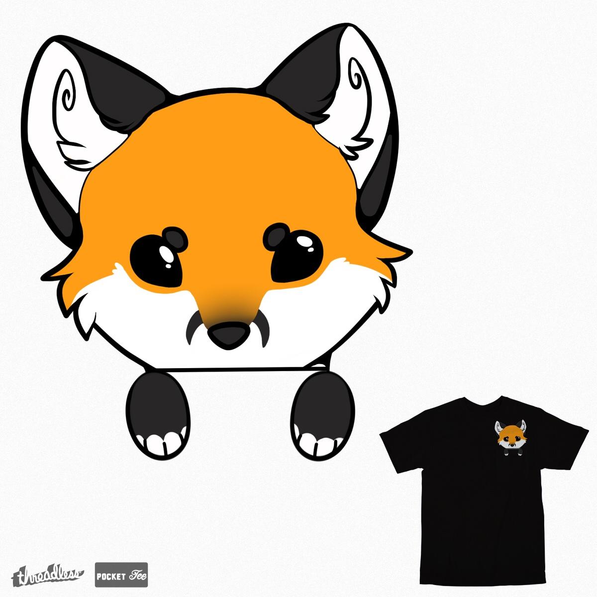 Pocket Fox by KyokoCat on Threadless