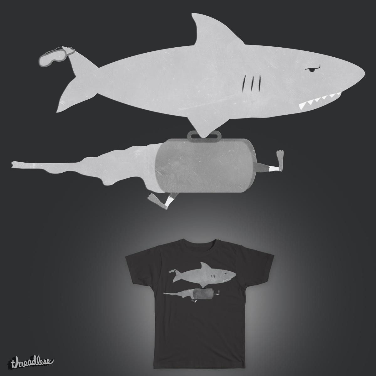 Shark Week - Monday by Jacko_Monster on Threadless