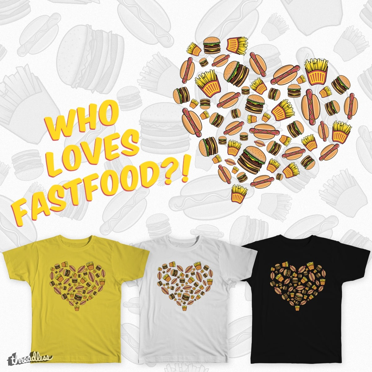 Fast Food! <3 by arnokiss on Threadless