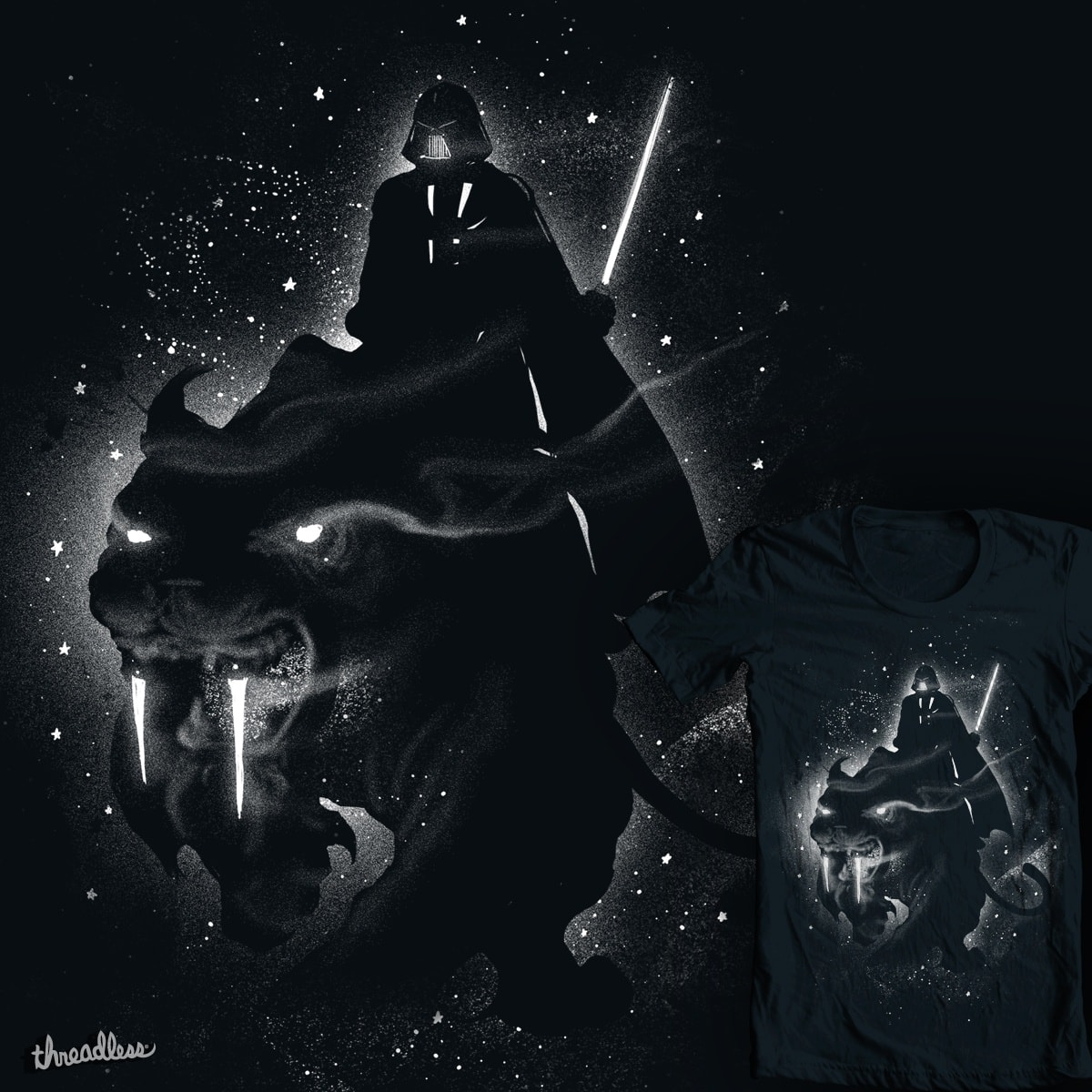 Saber Toothed Tiger by tobiasfonseca and GUTO_SZA on Threadless
