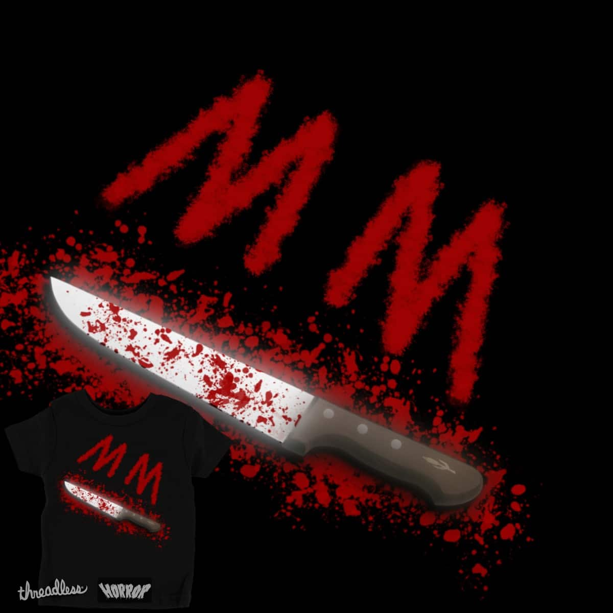 MM's Butcher Knife by NLHammer on Threadless