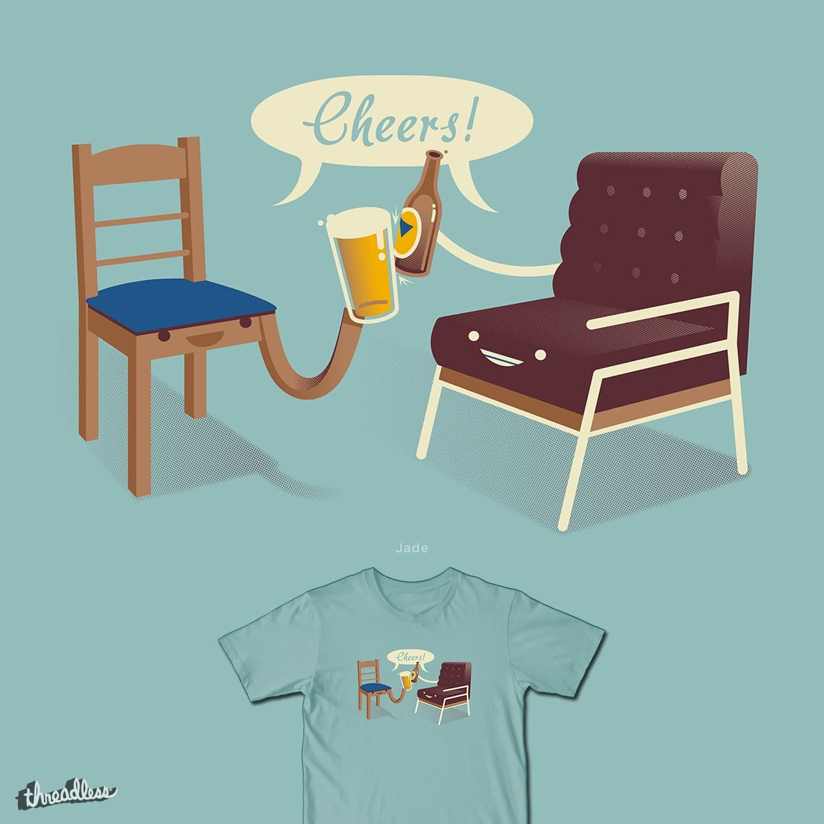 Cheers! by HtCRU on Threadless