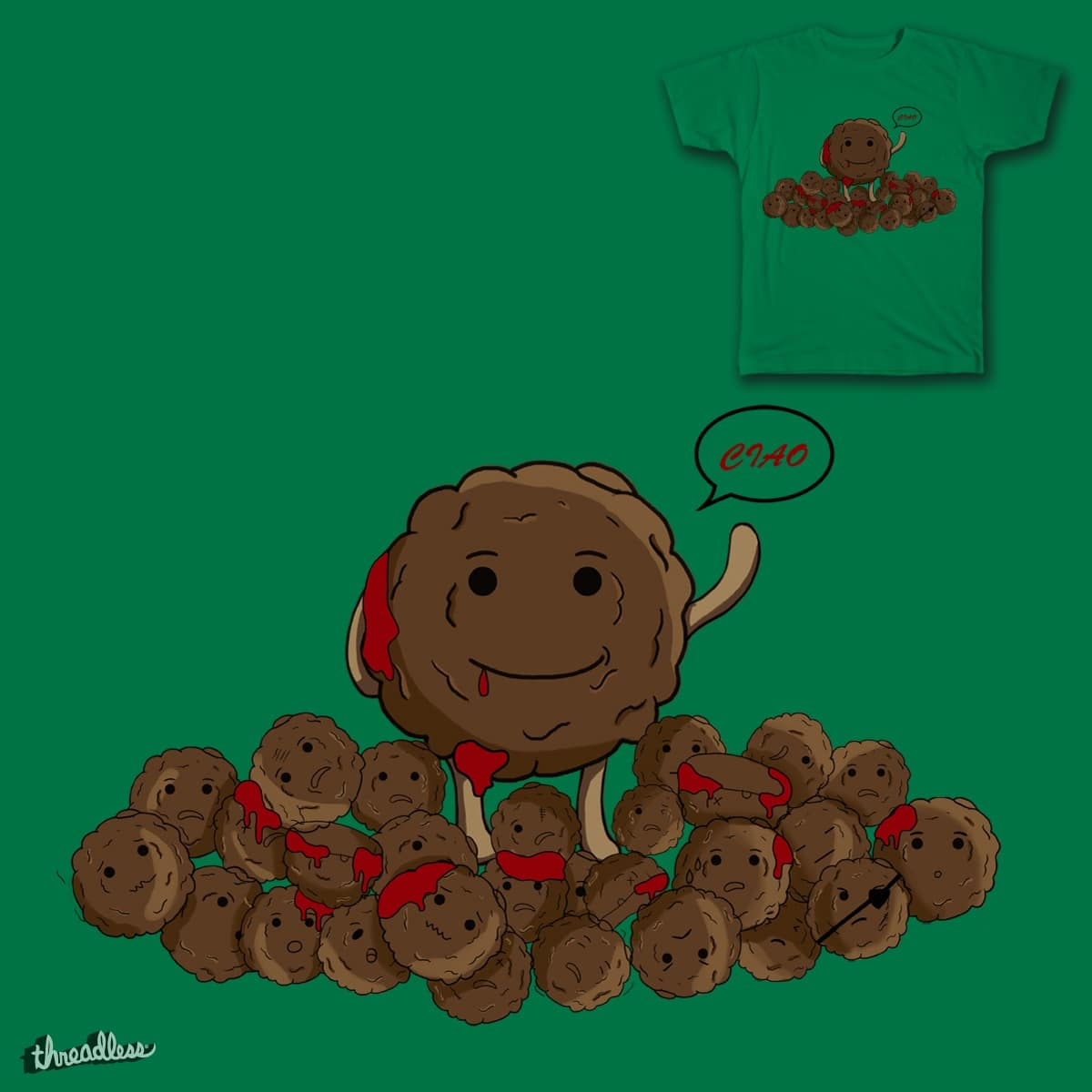MeatBall  by Gxian on Threadless