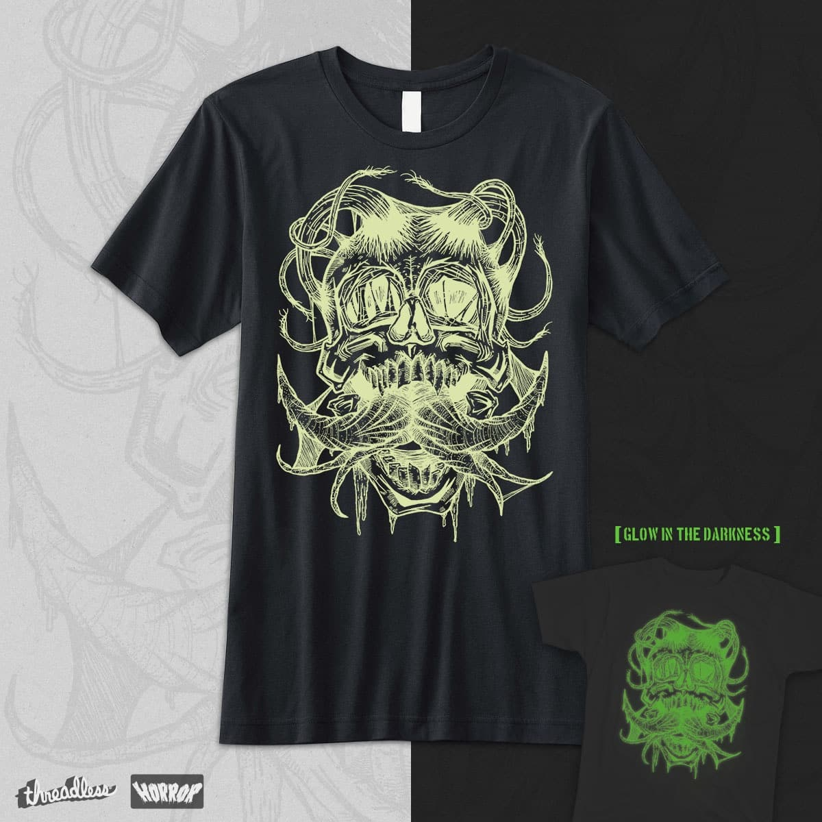 Glow in the darkness by pethco on Threadless