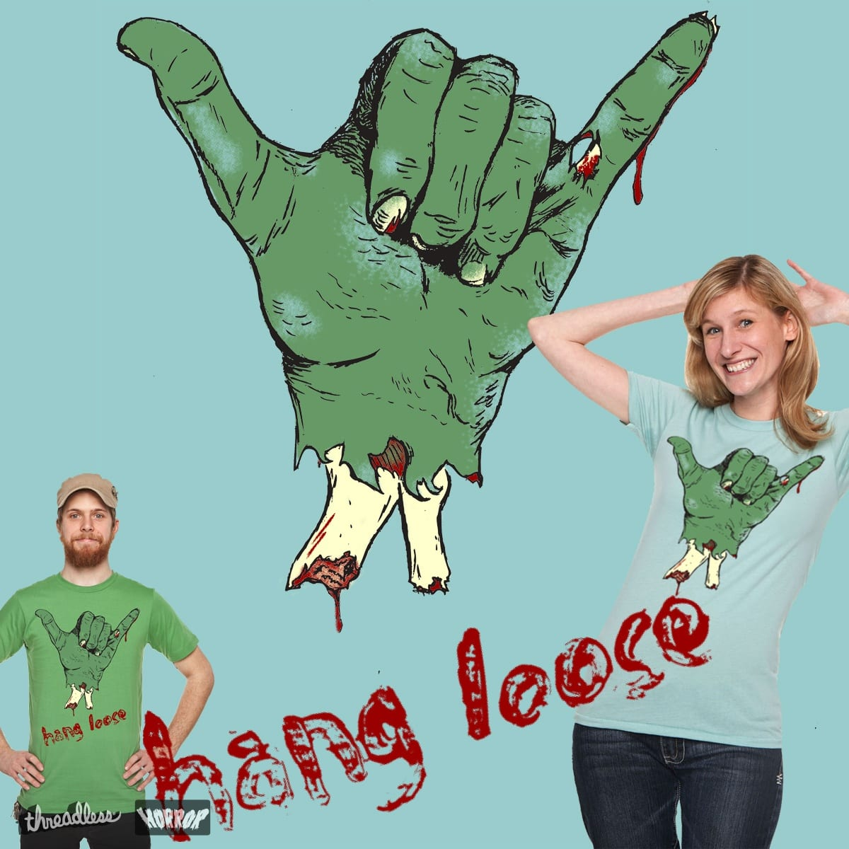 Hang Looser by bygrinstow on Threadless