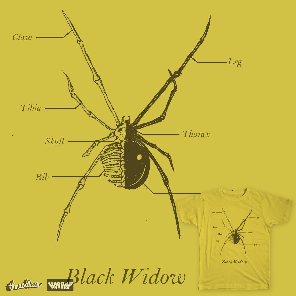 Black Widow by TRYBYK on Threadless