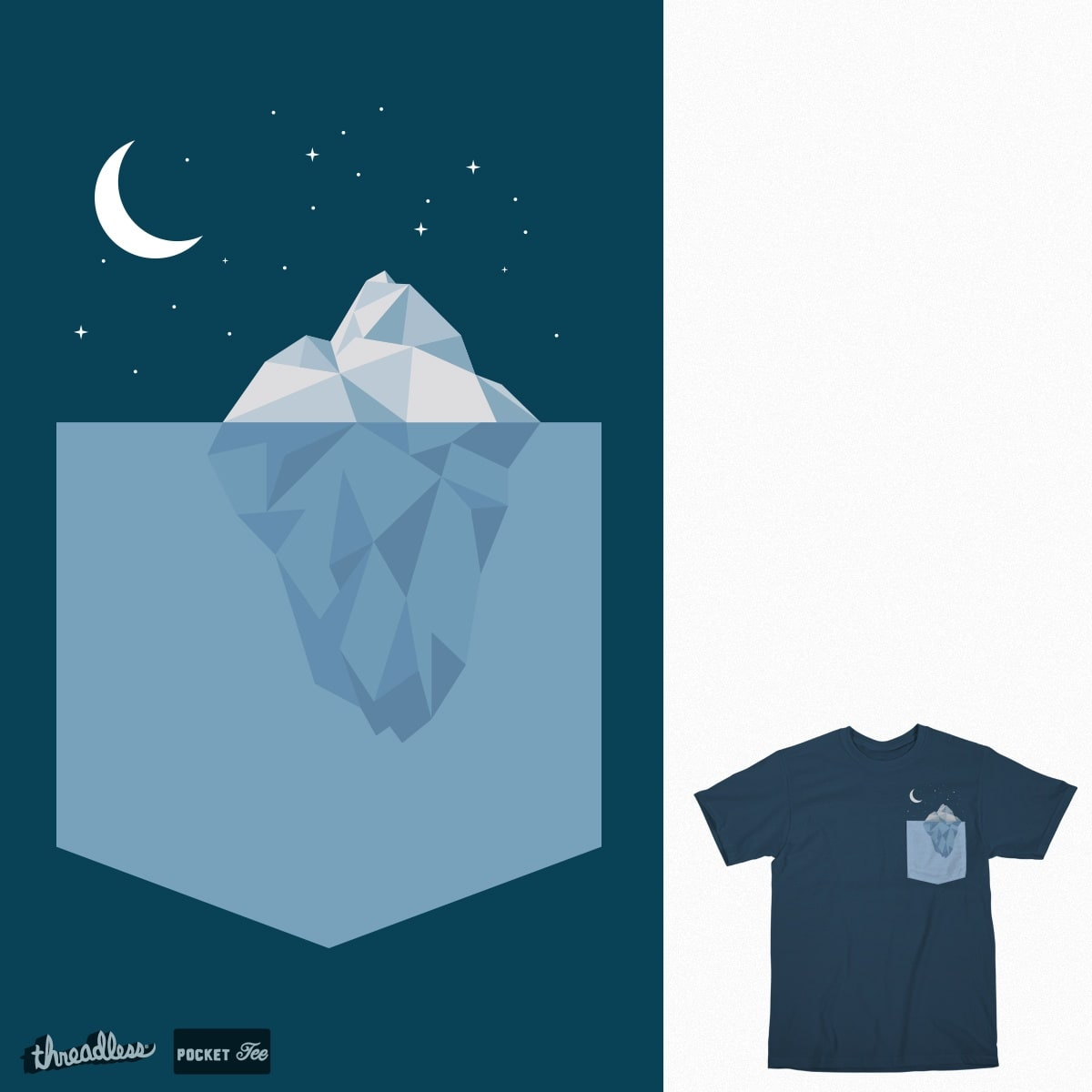 Glacier Cove by srhartman on Threadless