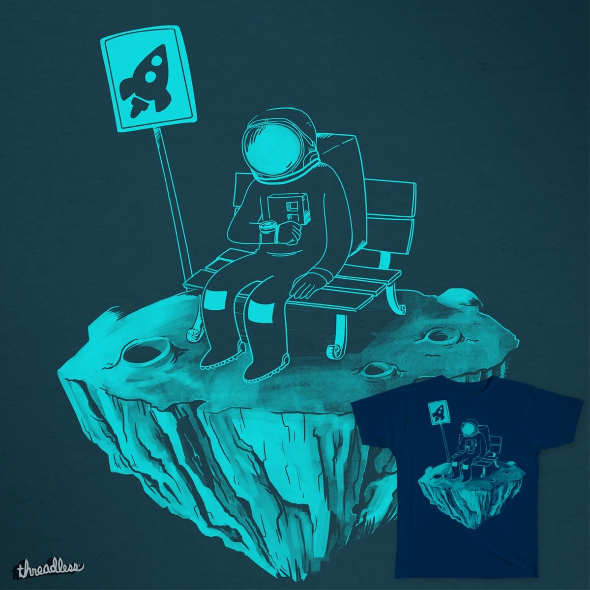 Waiting for the Bus by exeivier on Threadless