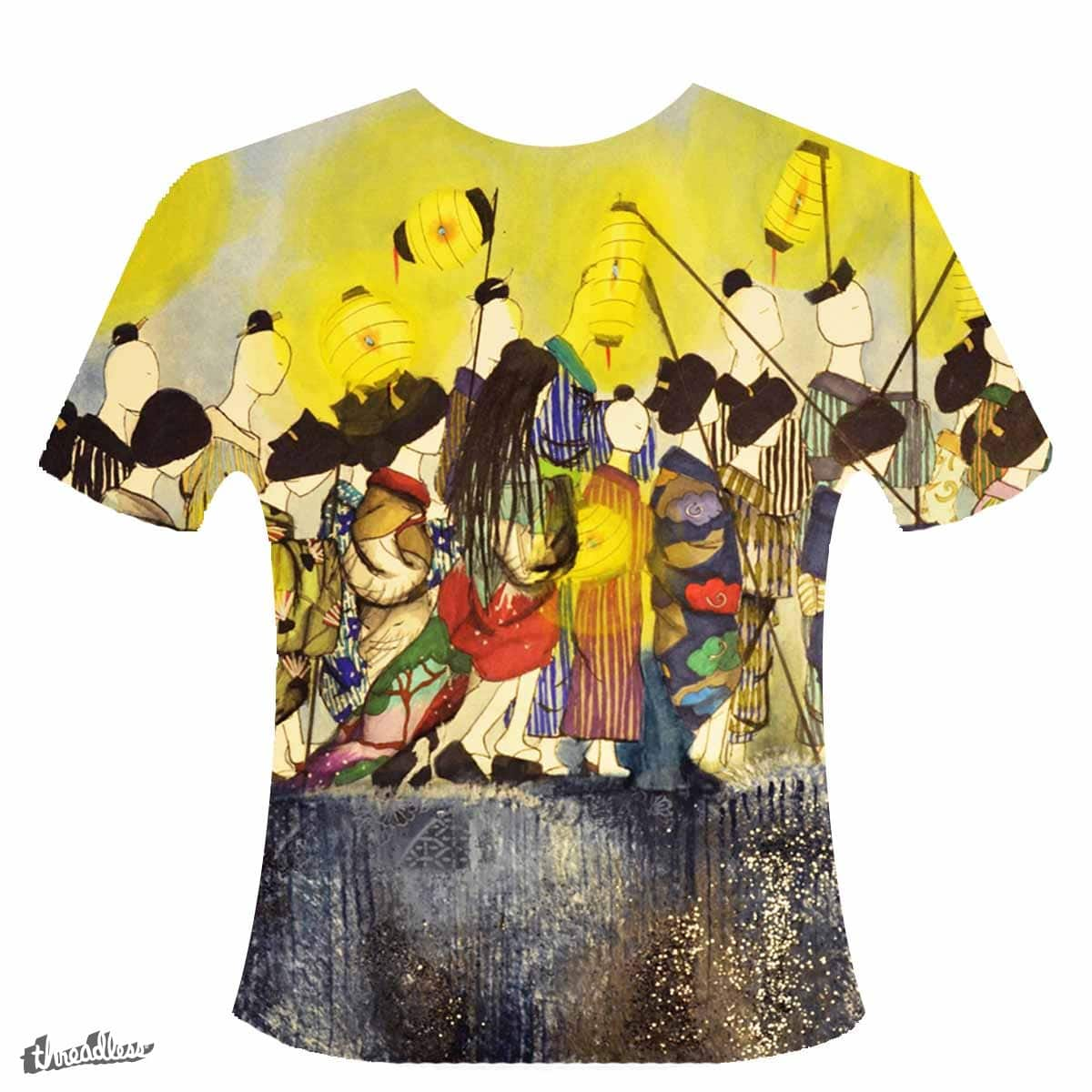 Japanese Procession by Daphnepiper on Threadless