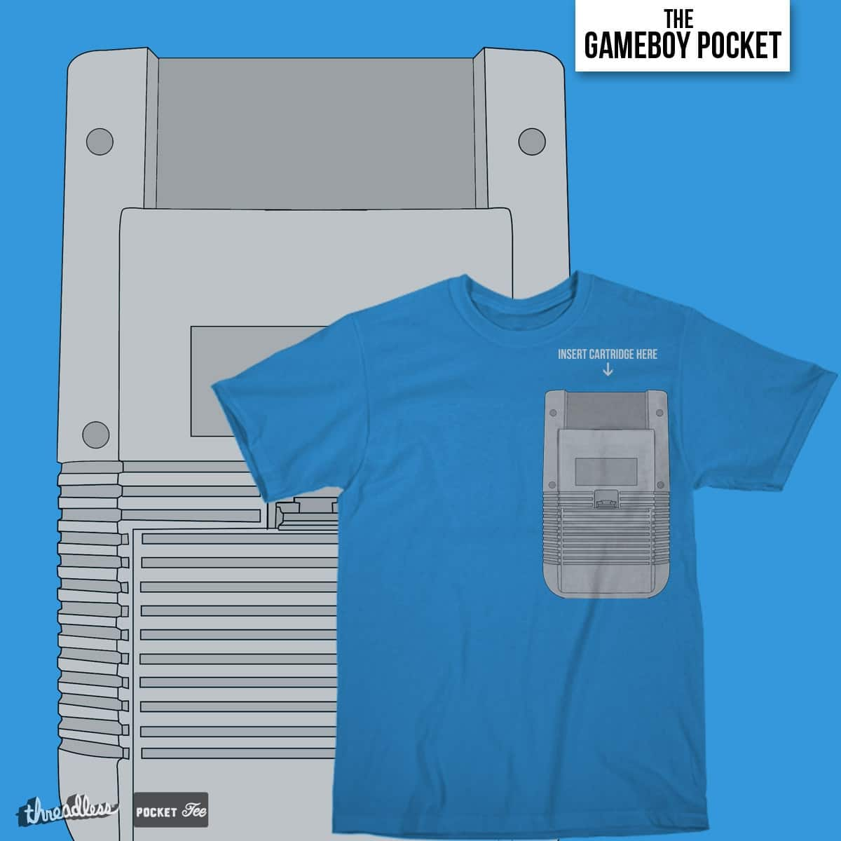 The Gameboy Pocket by dannyjafni on Threadless