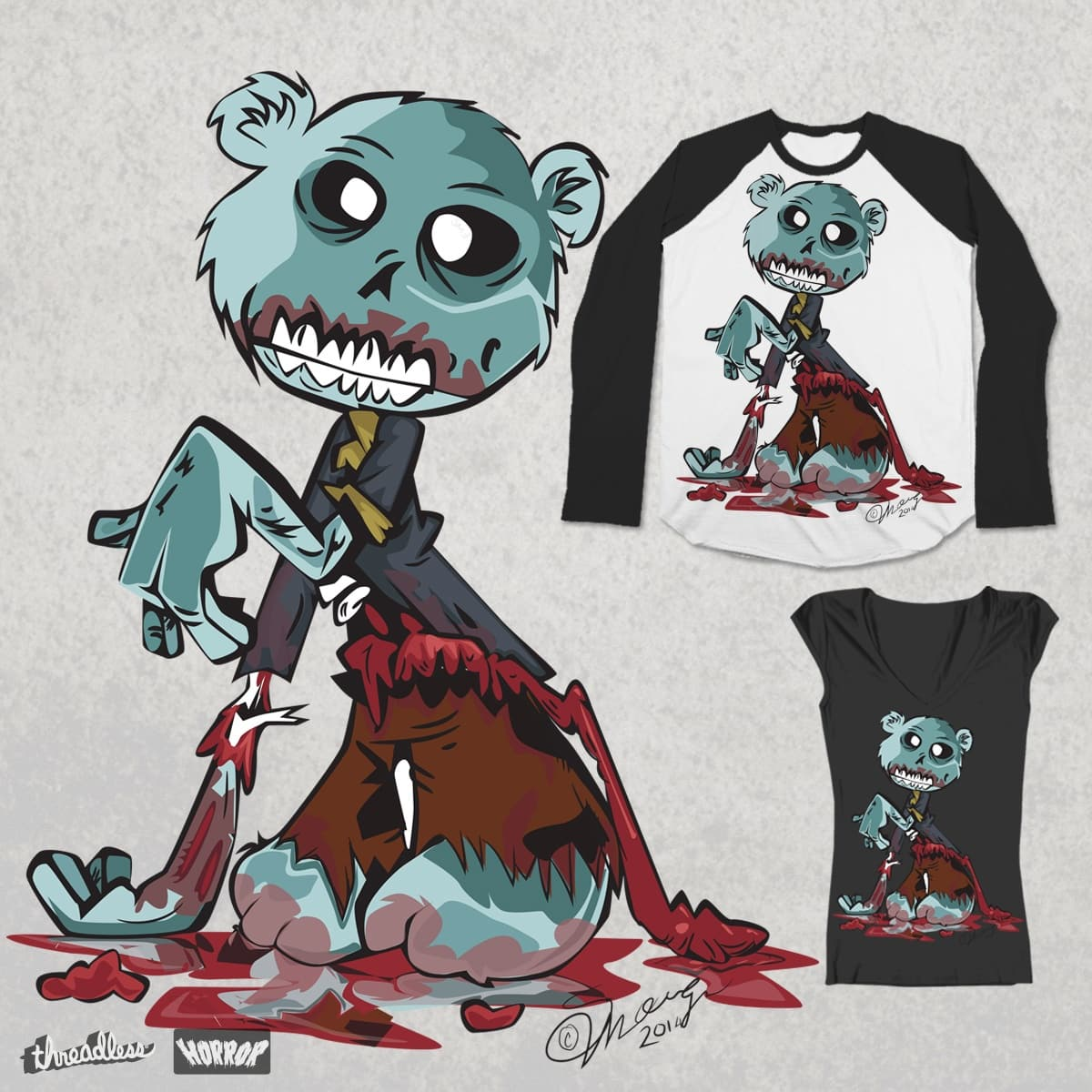 Lost His Stuffing  by stheartsiegirl on Threadless