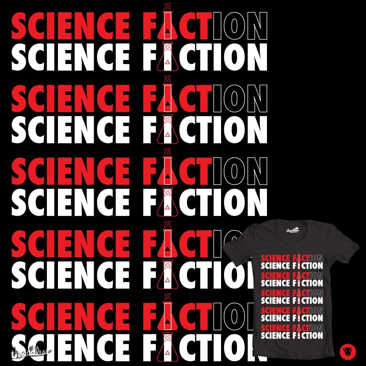 Sci Fact or Fiction by NJ Orange-Man on Threadless
