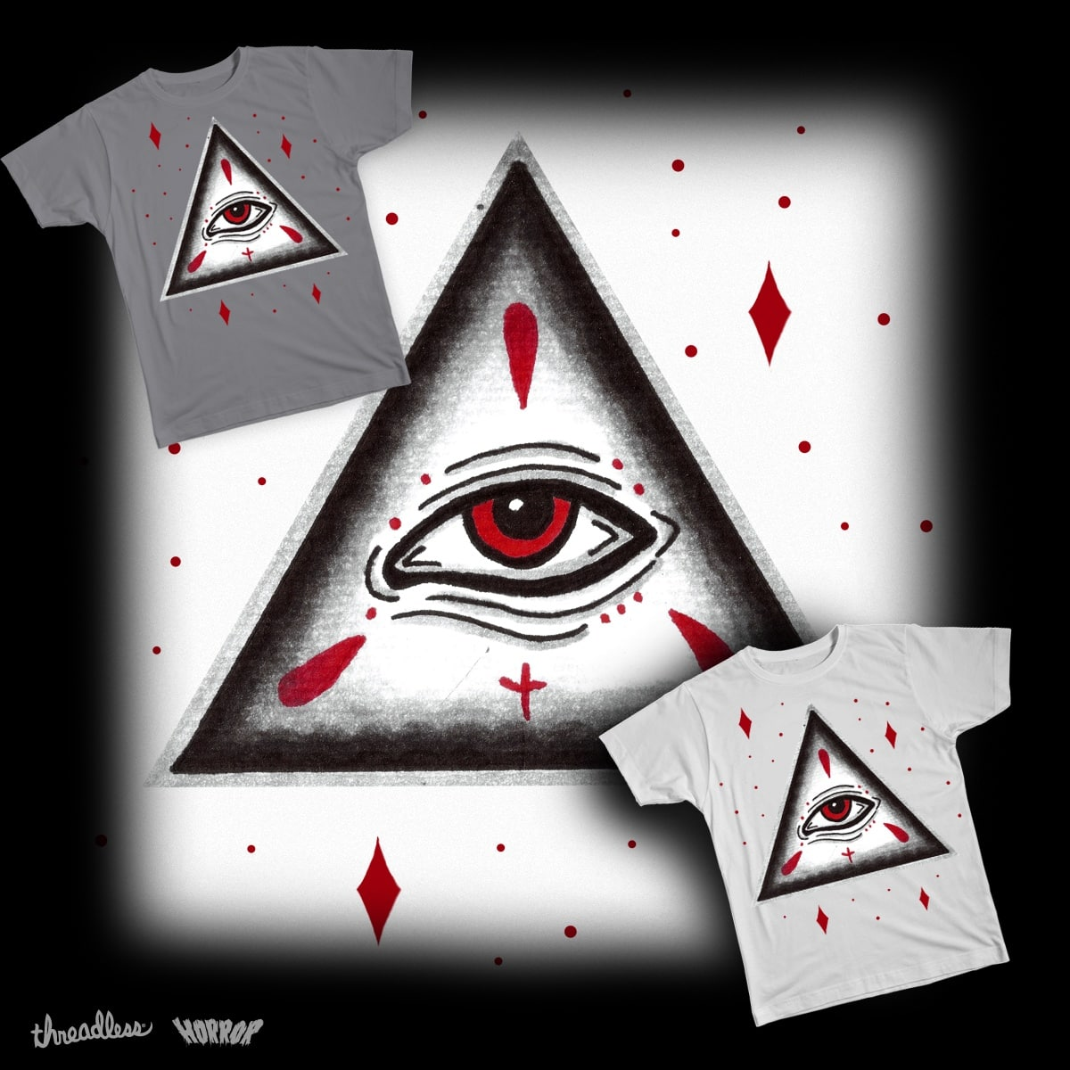 HUNGRY EYE. by caroltelles on Threadless
