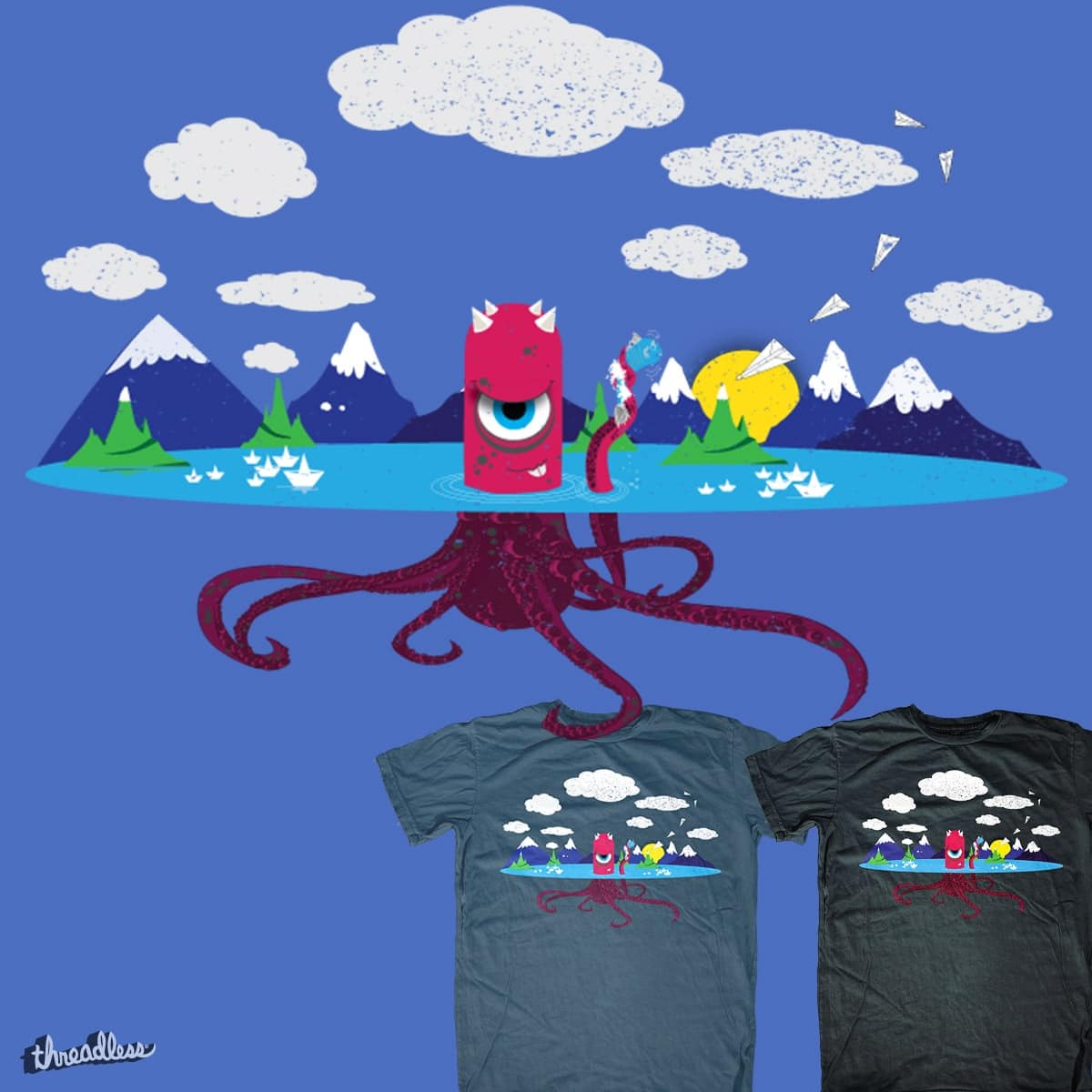 Octopass by venoxy on Threadless